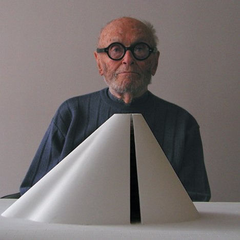 Philip Johnson portrait
