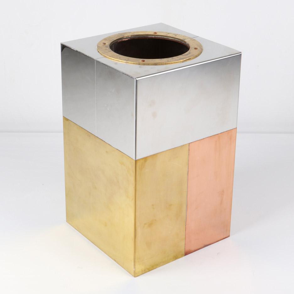 Metal Sandwich Vase by Piet Hein Eek