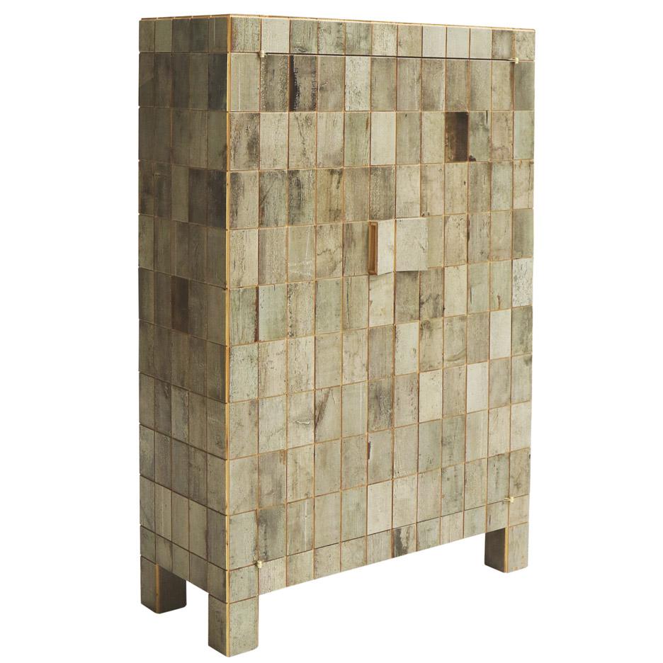 Waste Tile Cabinet by Piet Hein Eek
