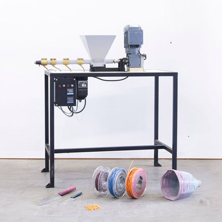 Plastic recycling machines by Dave Hakkens