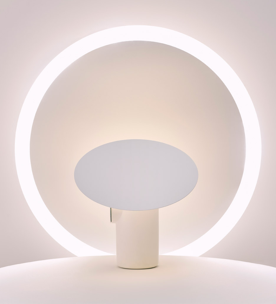 Polar Desk Lamp by Ross Gardam