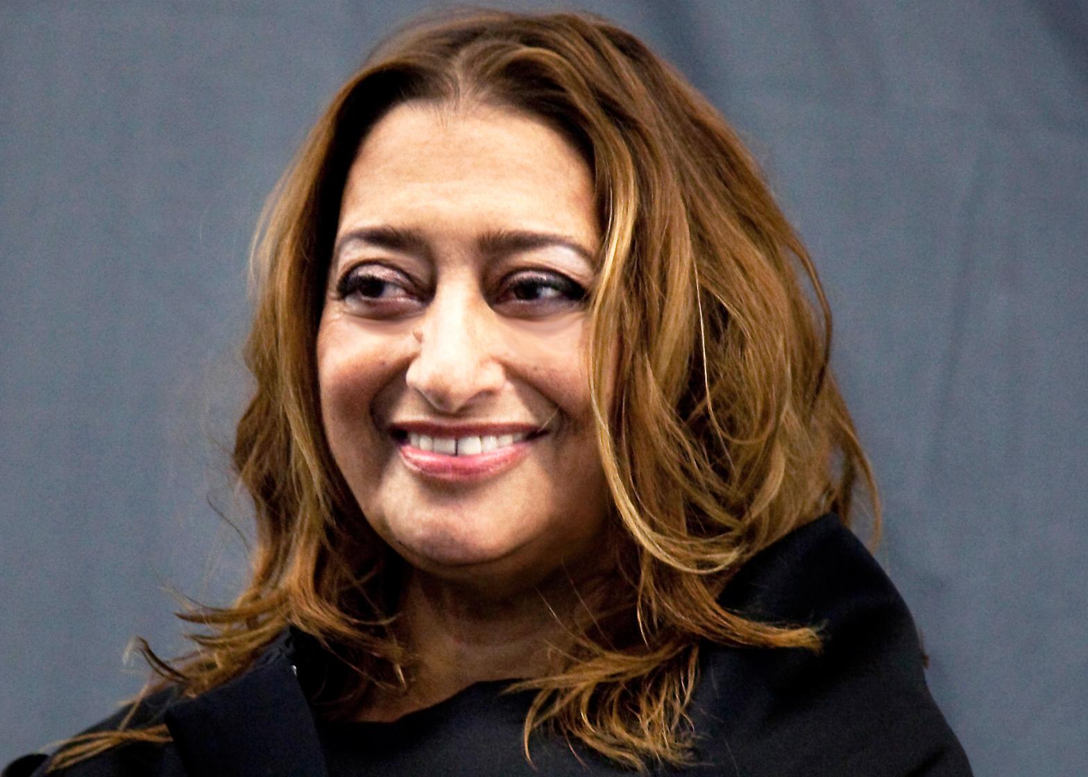 Portrait of Zaha Hadid by Giovanna Silva