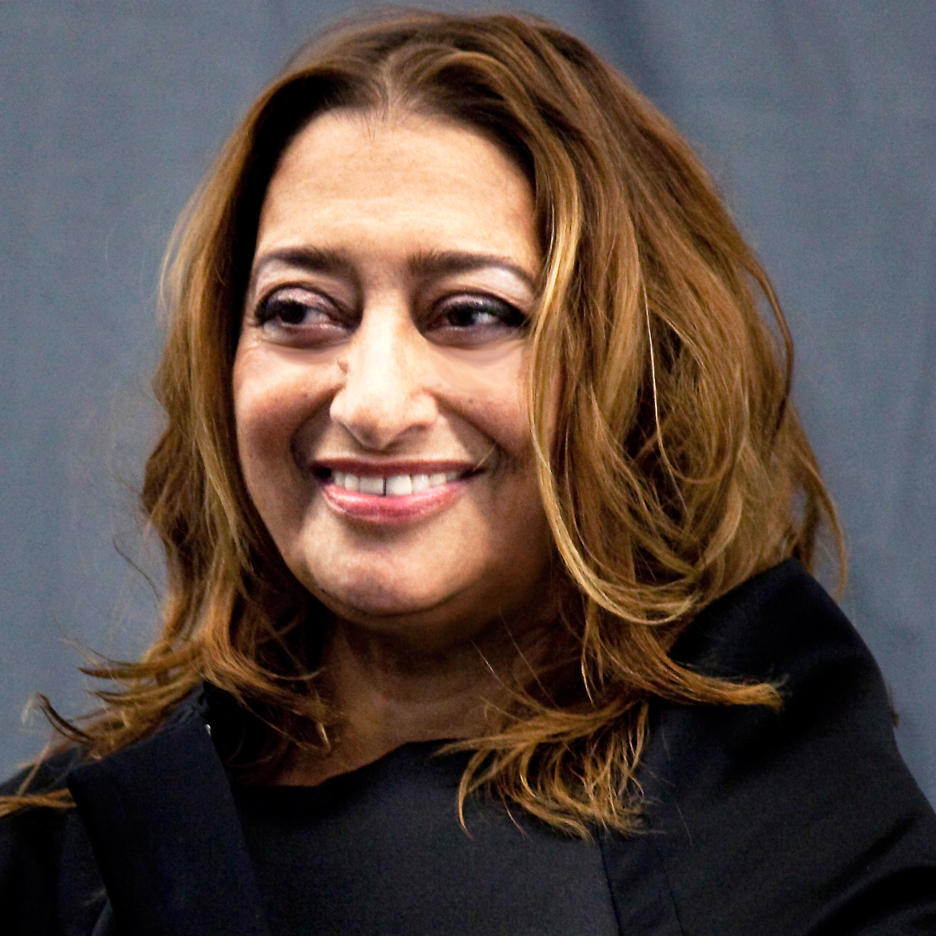 Portrait of Zaha Hadid by Giovanna Silva