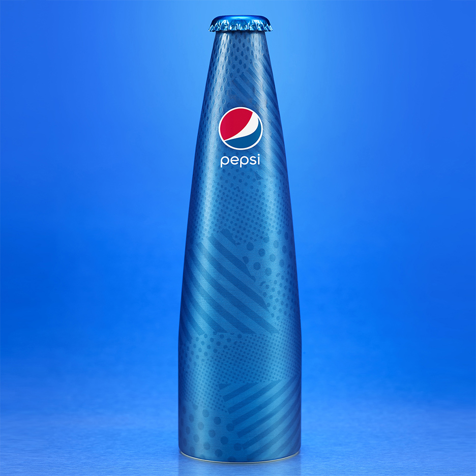 Prestige Pepsi bottle by Karim Rashid for Milan design week 2016