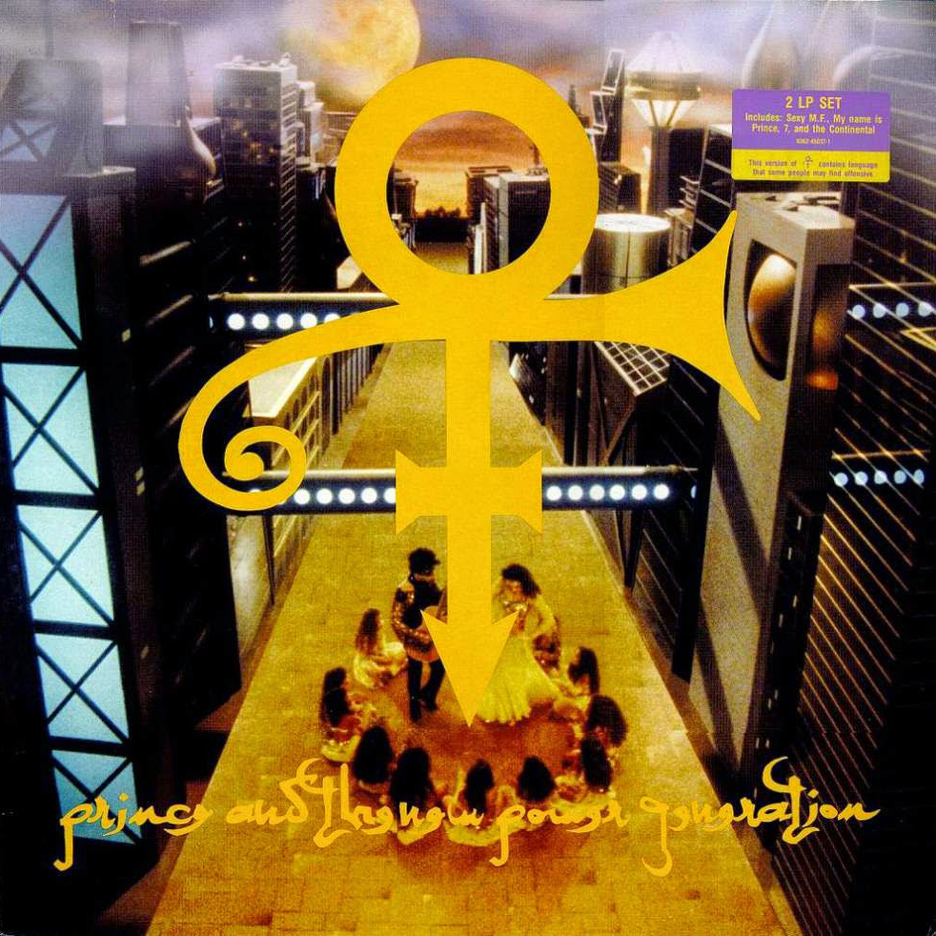 "Prince's ""love symbol"" album cover"