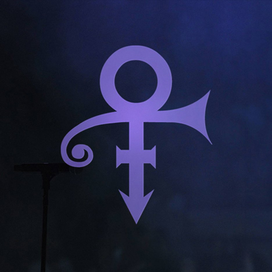 "Prince's ""love symbol"" by Mitch Monson"