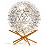 "Moooi creates floor-standing version of ""beautiful and iconic"" Raimond lamp"