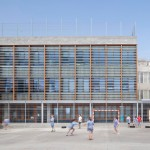 H Arquitectes upgrades 1950s school building in Spain with a new facade