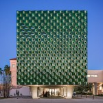 Machado Silvetti clads Florida museum extension in over 3,000 green ceramic tiles