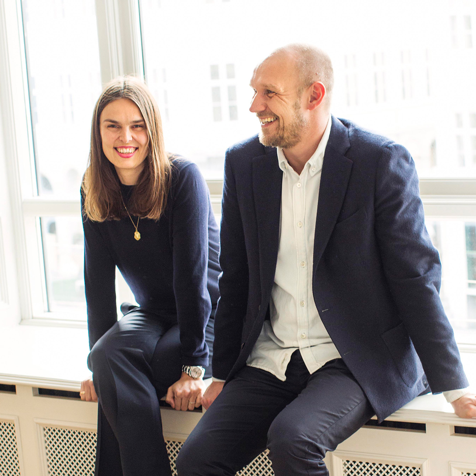 Rolf and Mette Hay, who co-founded Hay with Troels Holch Povlsen in 2002