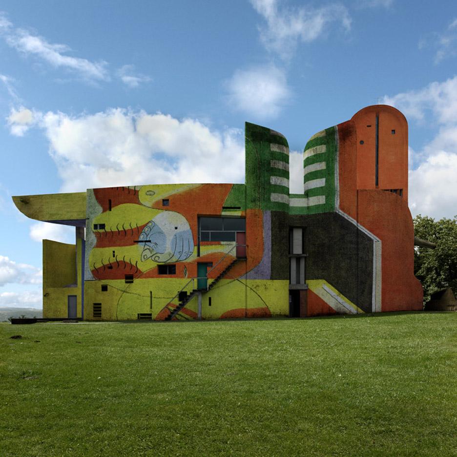 Ronchamp La Chapelle Notre Dame du Haut le Corbusier by Xavier Delory