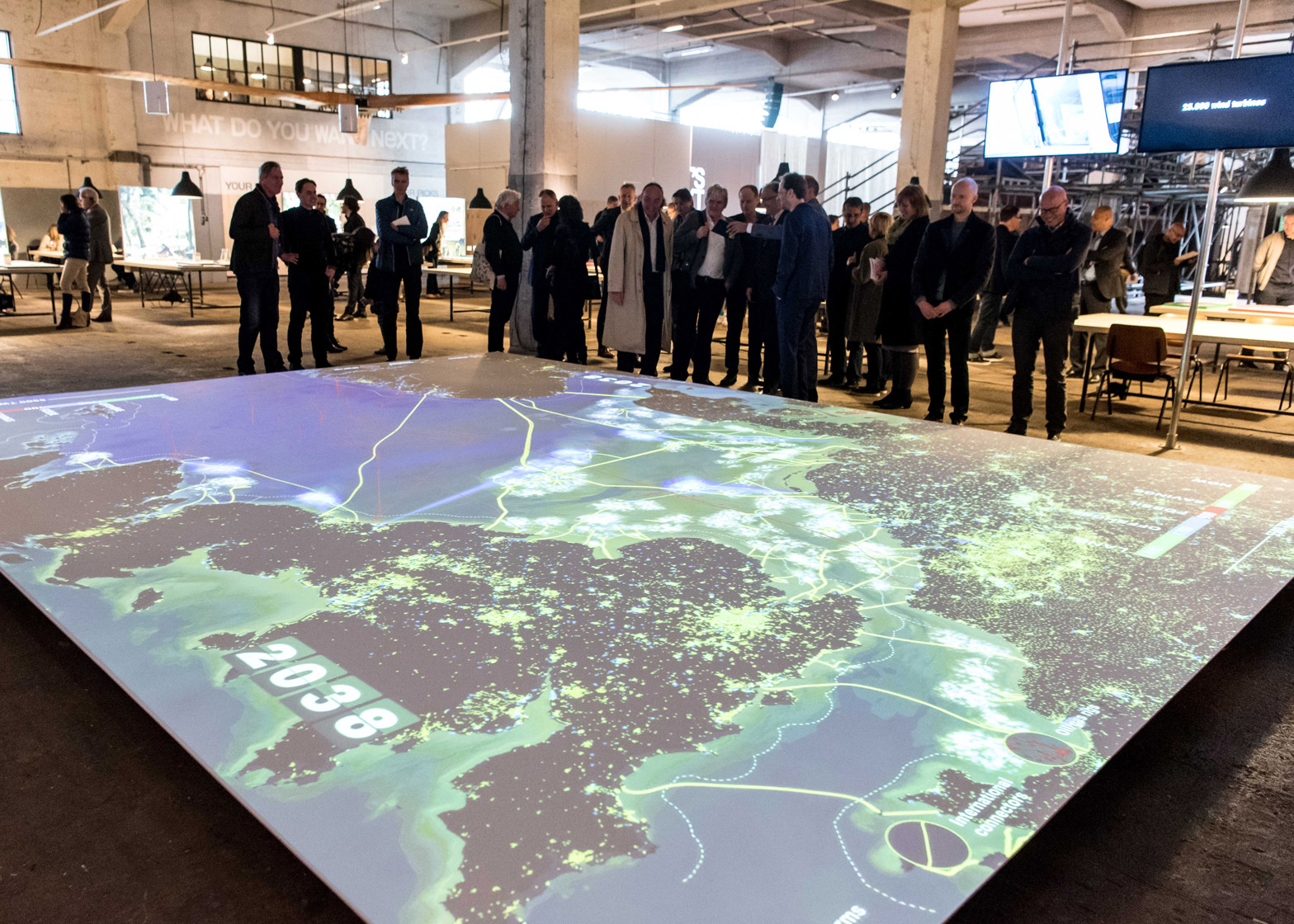 Photograph by Hans Tak Rotterdam biennale 2016 smart cities installation