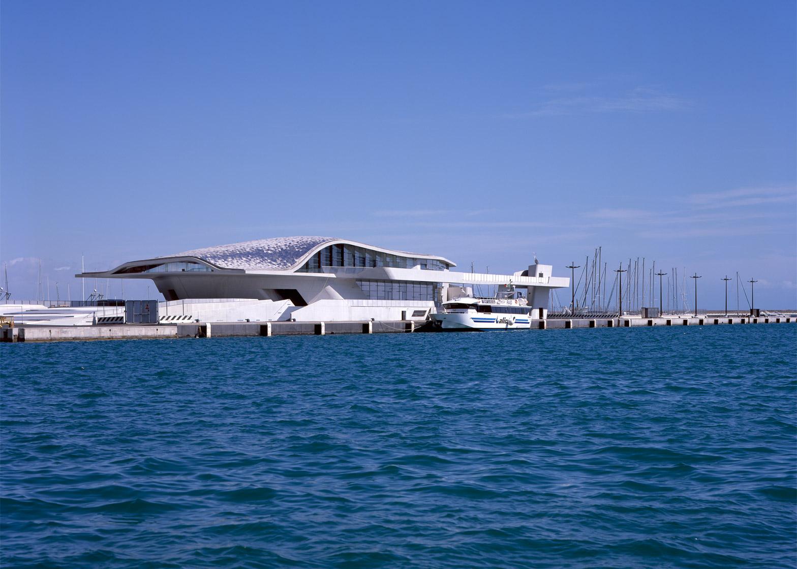 Salerno Maritime Terminal by Zaha Hadid