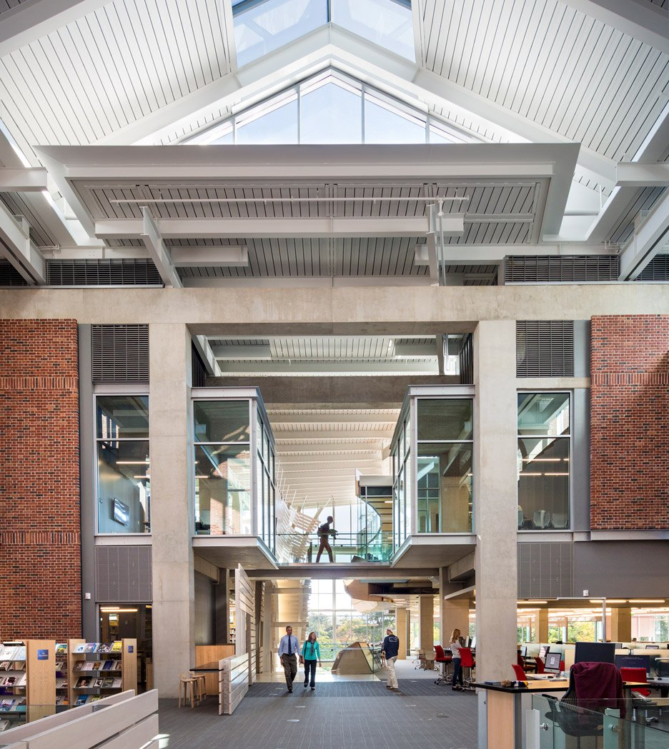 Sawyer Library; Williamstown, Massachusetts, by Bohlin Cywinski Jackson winner of the 2016 AIA library awards