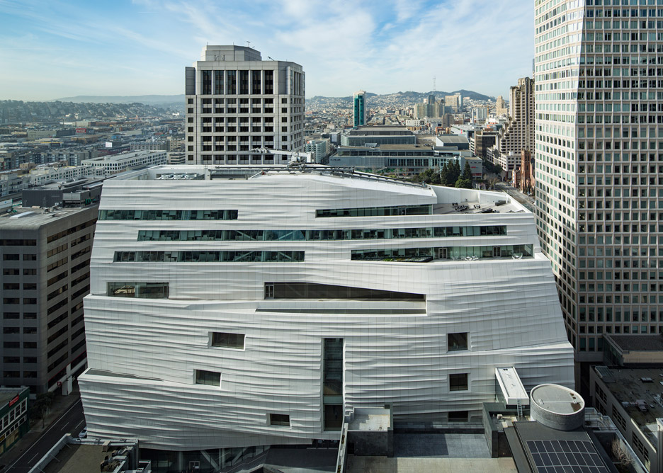 SFMOMA museum extension by Snøhetta in San Francisco, USA