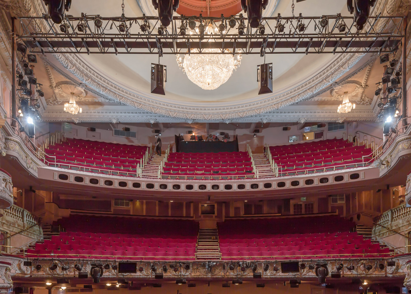 Shaftesbury Theatre renovation by Bennetts Associates