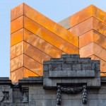 Bennetts Associates adds pre-rusted steel box to London's Shaftesbury Theatre