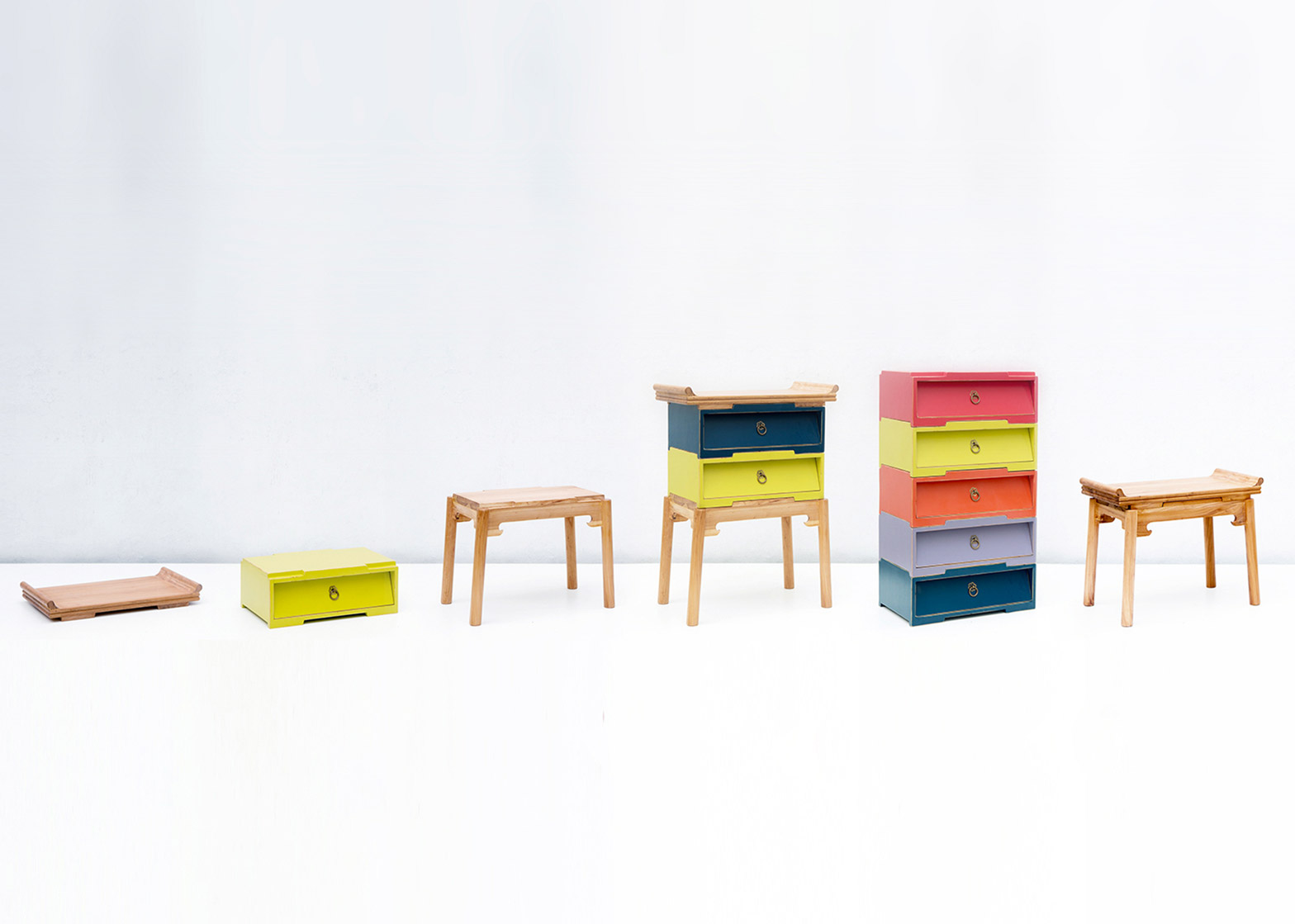 Shang furniture system by Scene Shang