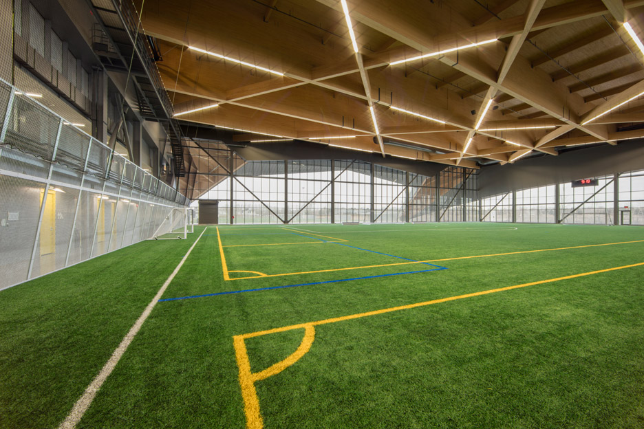 Stade de Soccer Montreal by Saucier + Perrotte architectes and HCMA in Quebec, Canada