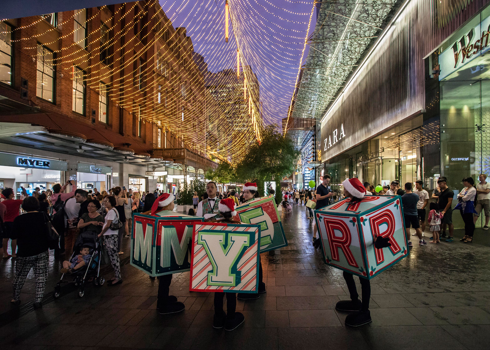 the city of sydney christmas decorations