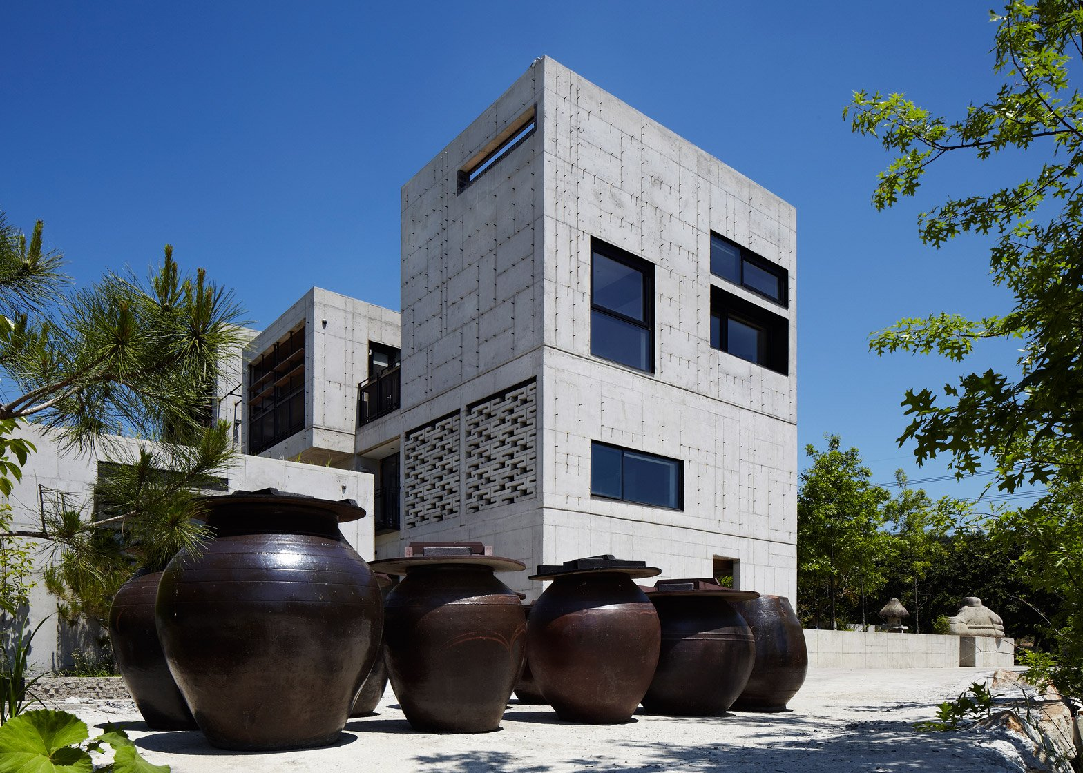 The Ground Wall in Gimhae, South Korea by FHHH Friends Architects