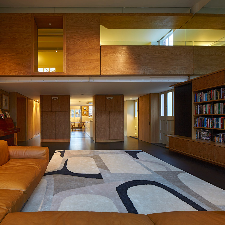 The Lycée by Knox Bhavan Architects, a residential renovation and conversion in London, UK