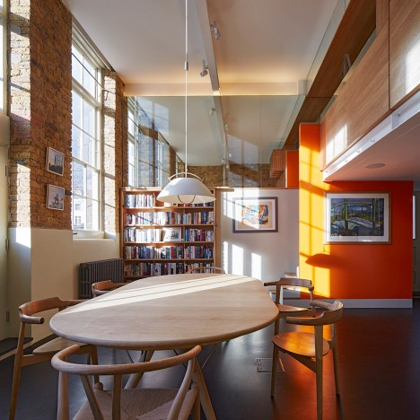 Knox Bhavan Architects combines two flats in a converted London school