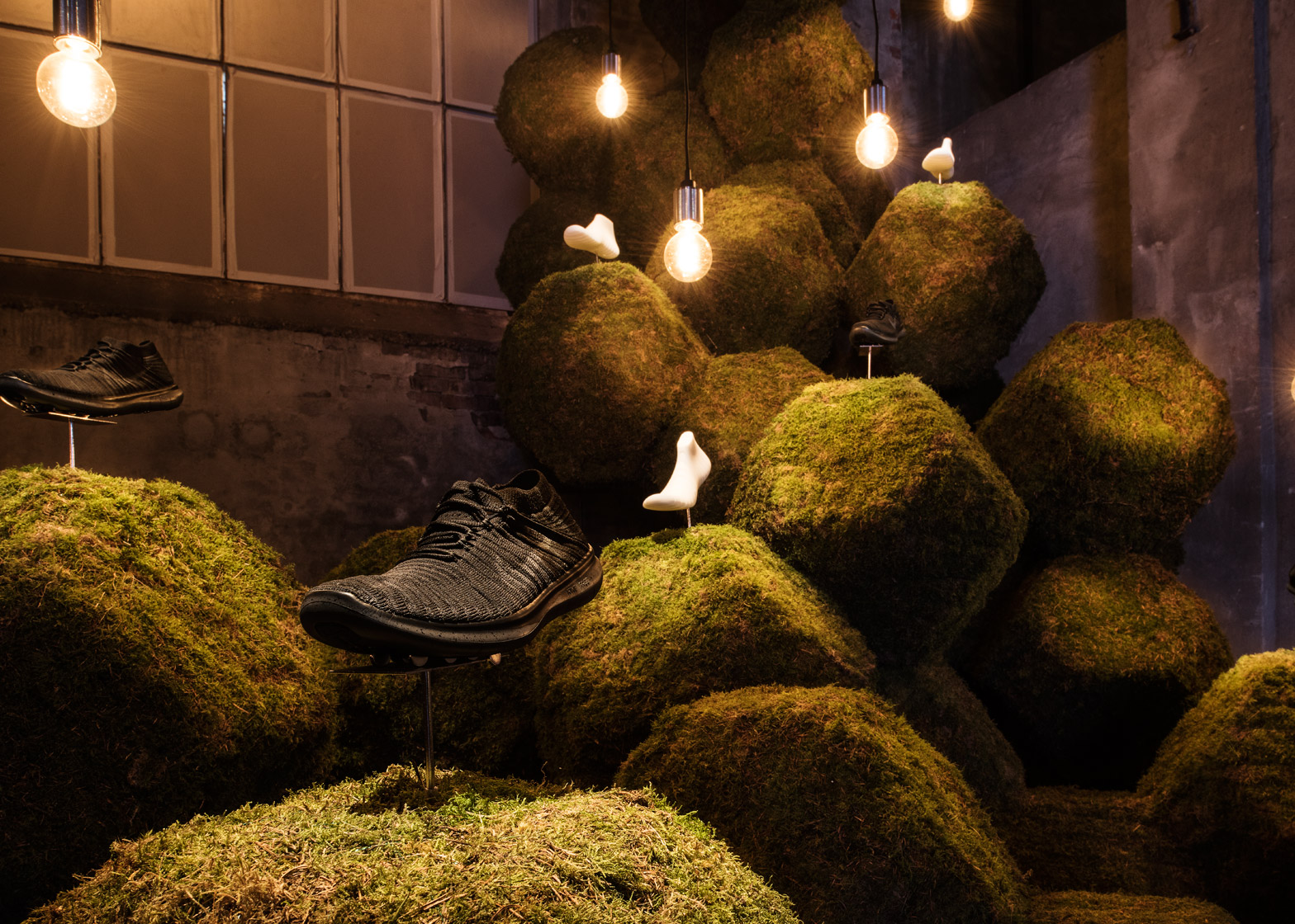 The Nature of Motion exhibition by Nike