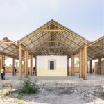 Freestanding roof spans Haiti orphanage by Bonaventura Visconti di Modrone