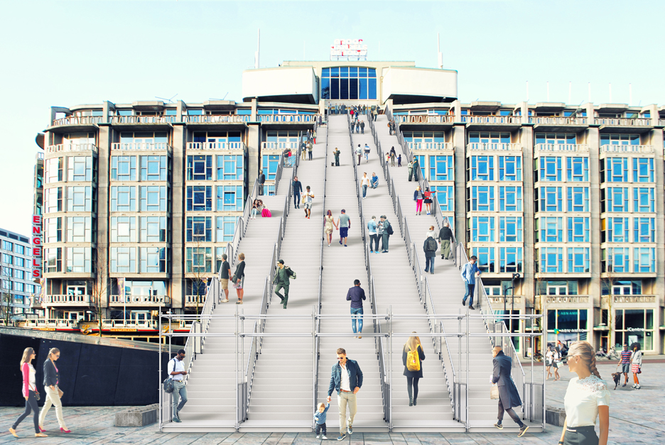 The Stairs by MVRDV