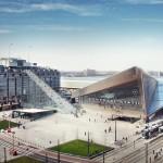 MVRDV to build giant scaffolding staircase in Rotterdam city centre