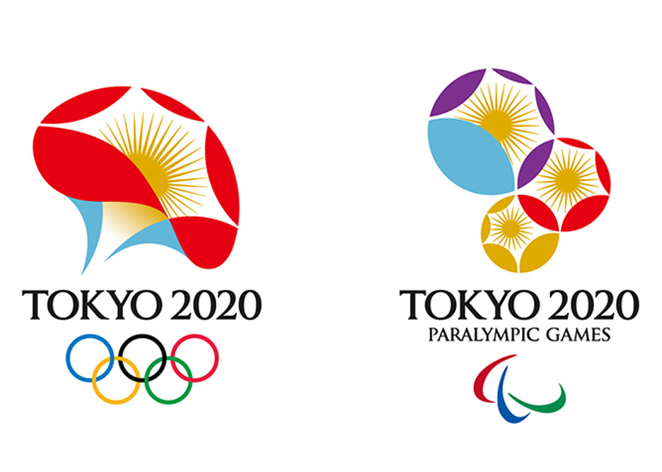 Shortlisted logo graphic designs for Tokyo 2020 olympics in Japan