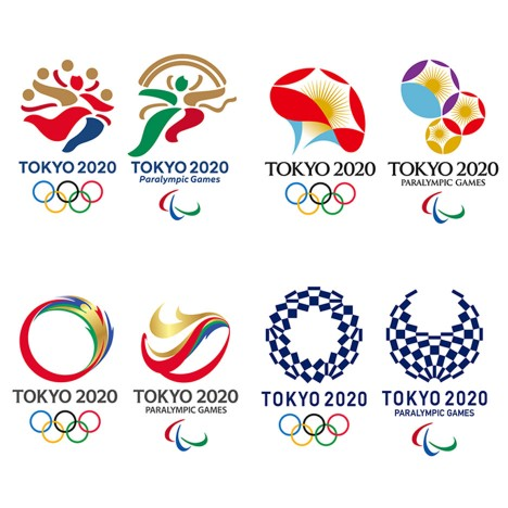 Tokyo 2020 Olympics unveils shortlisted logo designs
