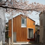 Atelier Kukka's House U is designed to frame a nearby cherry tree in Tokyo
