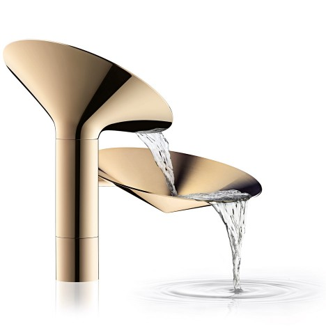 Adjaye, Front and more create sculptural bathroom taps for Axor