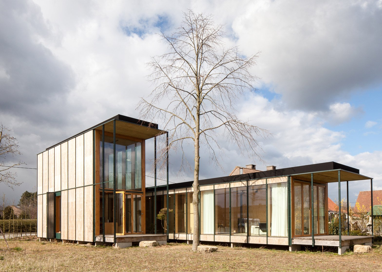 Weekend House in Wachtebeke by GAFPA