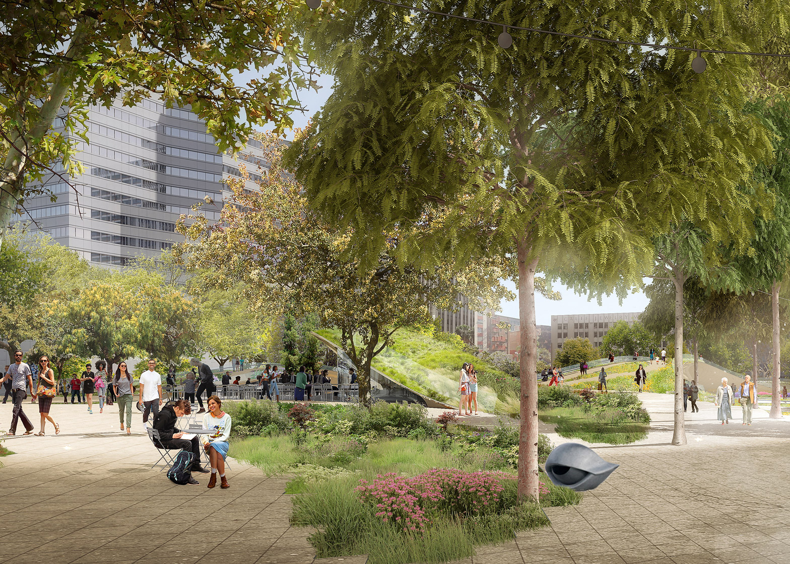 wHY and Civitas Pershing square renovation proposal architecture news Los Angeles LA USA