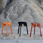 Wingårdhs decorates Tattoo stools using UNESCO-listed wood carving technique