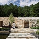 Kengo Kuma completes Chinese spa resort with pixellated stonework