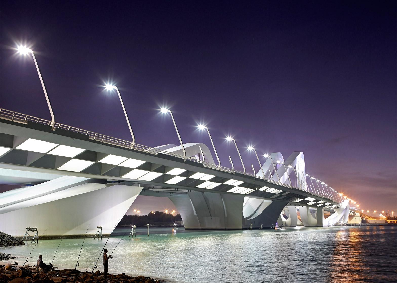 Sheikh Zayed Bridge, Abu Dhabi, UAE, 2010