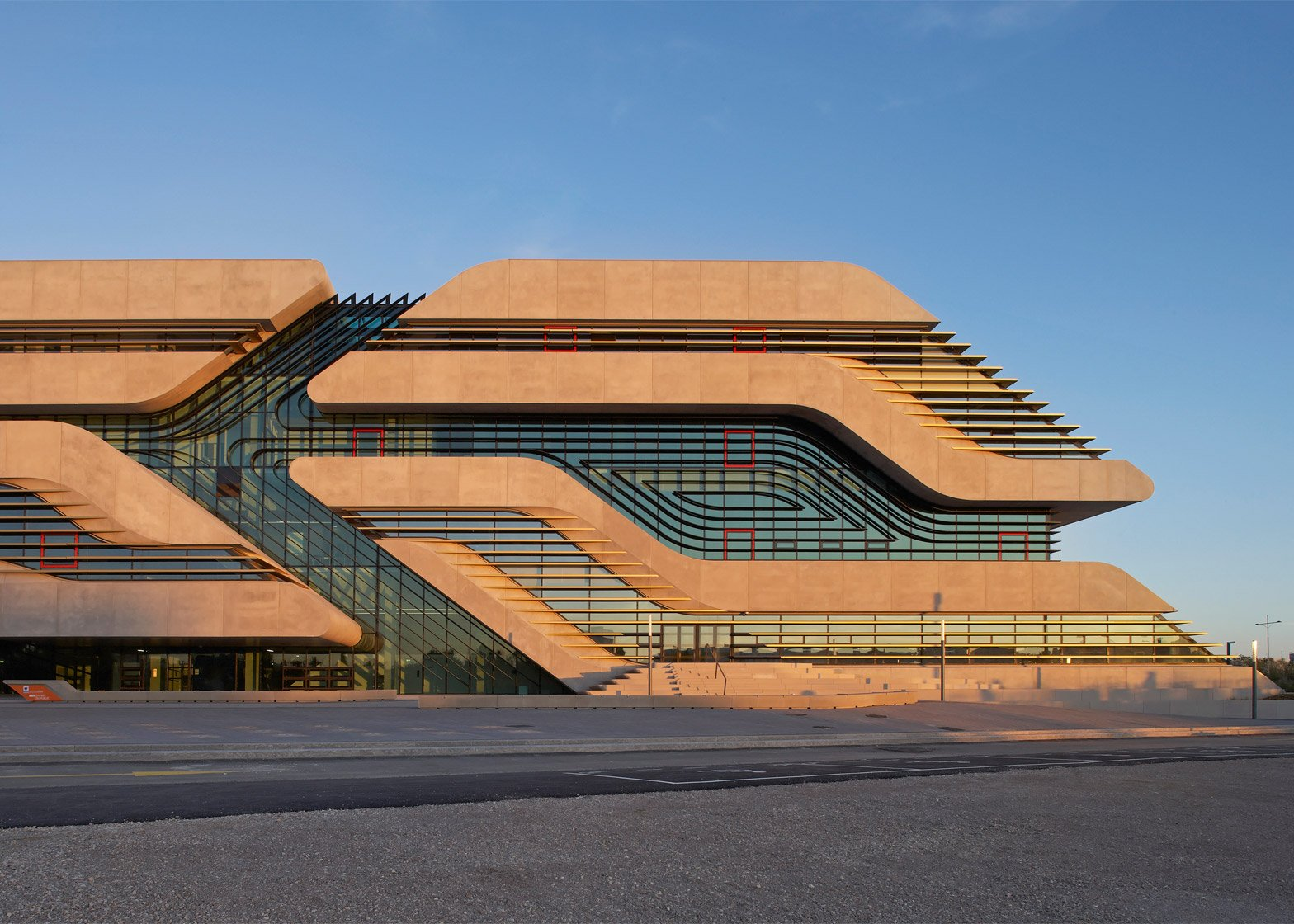 Zaha Hadid's best buildings photographed by Hufton + Crow
