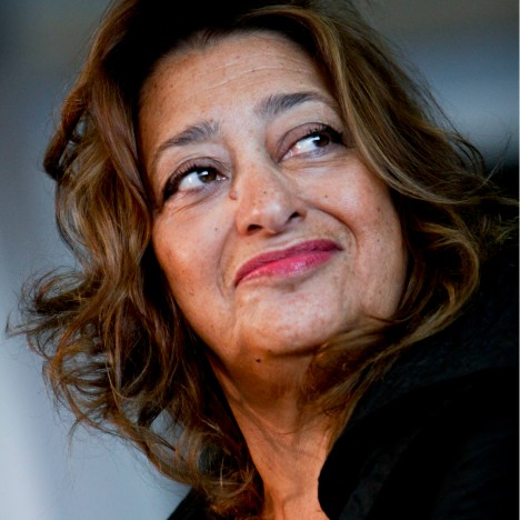 Pritzker Prize winners hold one-minute silence for Zaha Hadid
