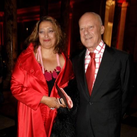 Zaha Hadid and Norman Foster