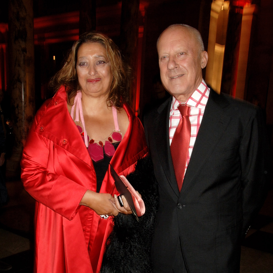 Zaha Hadid and Norman Foster