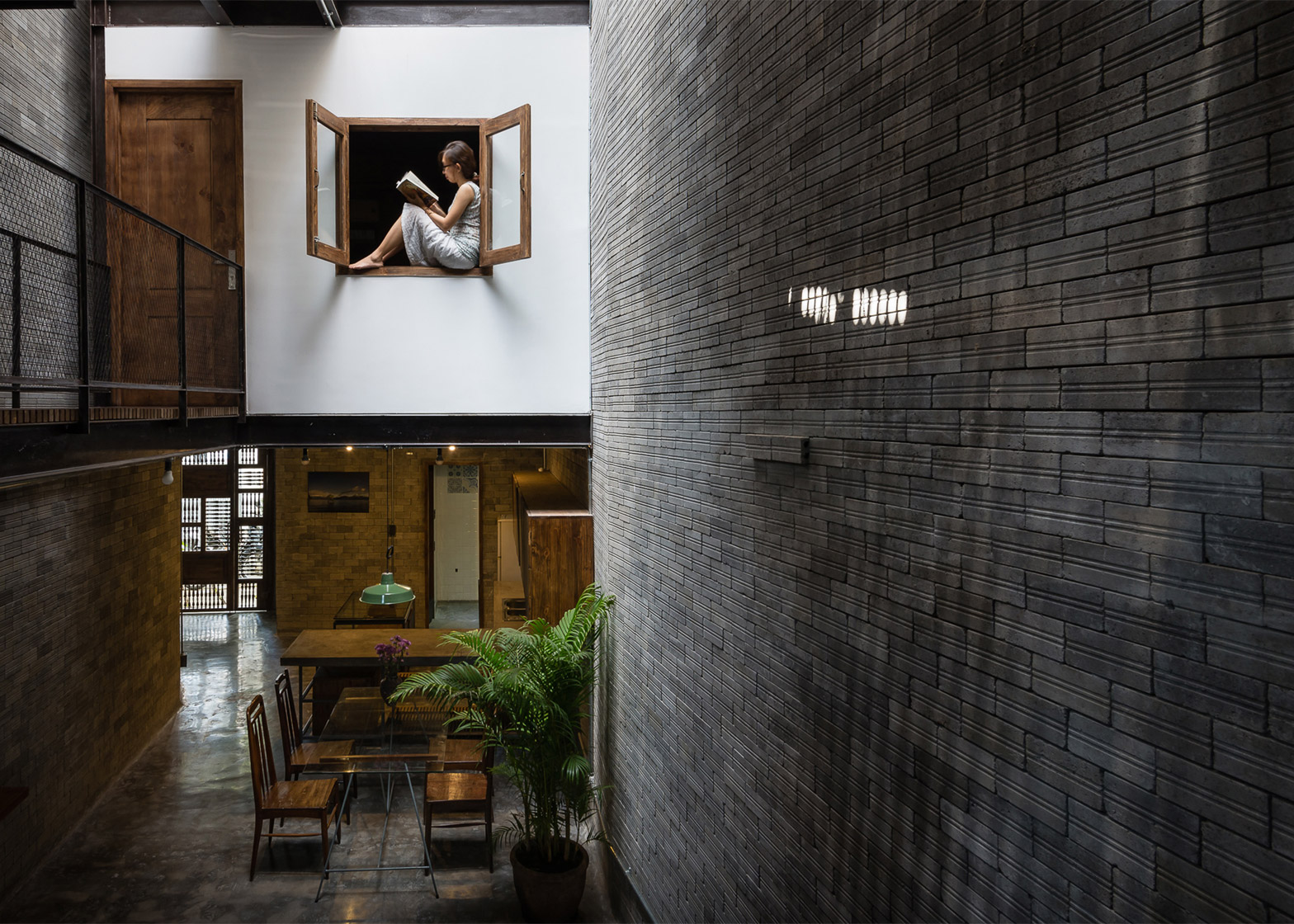 Zen House By Ha Is A Home For Three Buddhists