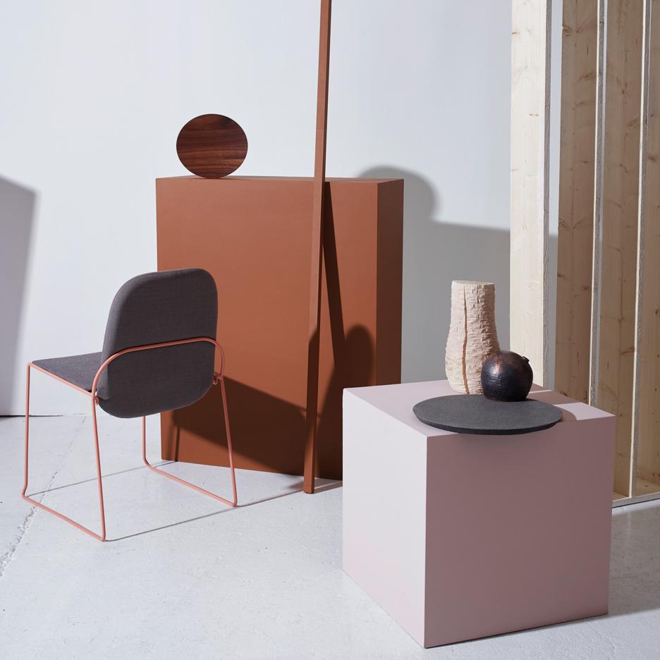 Structure exhibition of Norwegian design for Milan design week 2016