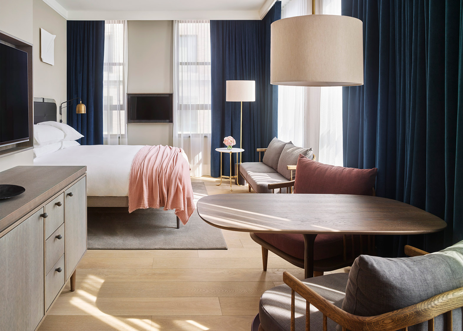 of howard materials copenhagen space natural dezeen by interior usa designers soho designs nyc city new hotel york