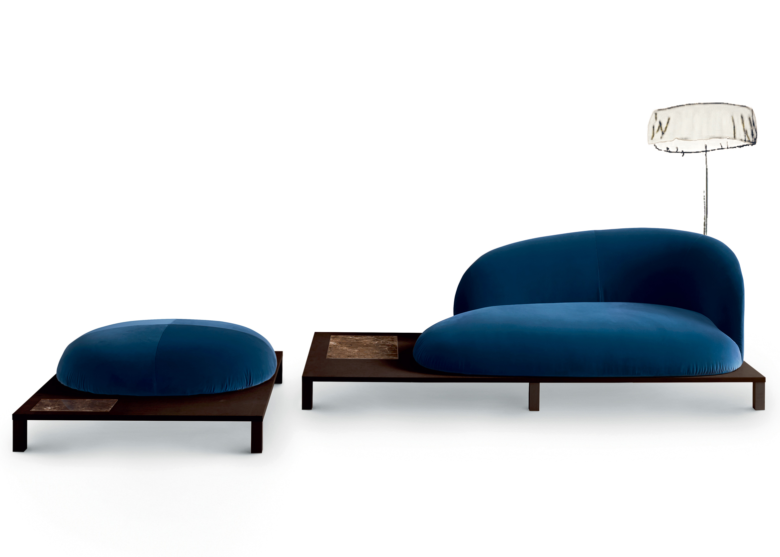 Bonsai seating by Claesson Koivisto Rune for Arflex