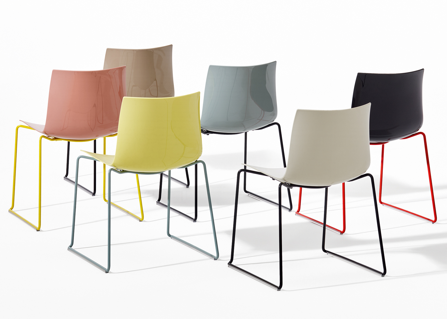 Catifa 46 chairs by Lievore Altherr Molina for Arper