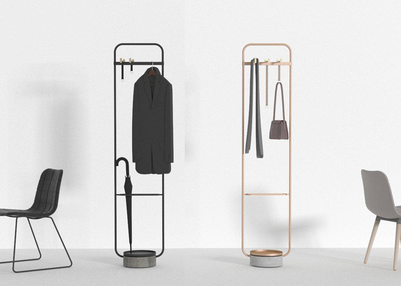 Hanger coat stand by Neri&Hu for Offecct
